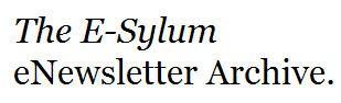 FEATURED WEB SITE: THE E-SYLUM
