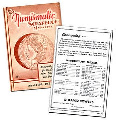 DAVE BOWERS ON NUMISMATIC LITERATURE IN THE 1950S