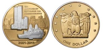 NATIONAL COLLECTOR'S MINT FINED $750,000 OVER 9/11 COIN
