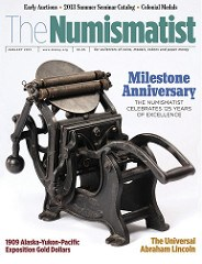 THE NUMISMATIST CELEBRATES ITS 125TH ANNIVERSARY