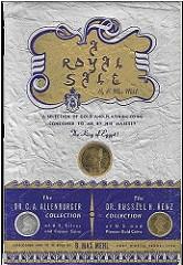 B. MAX MEHL'S 'A ROYAL SALE'