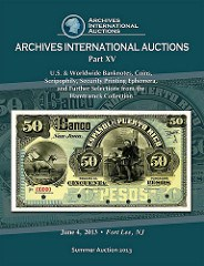 ARCHIVES INTERNATIONAL JUNE 4TH, 2013 AUCTION