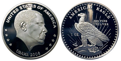 BRIAN TIMMINS AND THE 2008 OBAMA SILVER ROUND