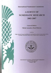 SURVEY OF NUMISMATIC RESEARCH 2008-2013 SELECTION SOUGHT