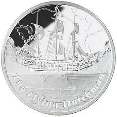 FICTIONAL SHIPS ON COINS: FLYING DUTCHMAN AND THE PEQUOD
