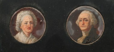 QUERY: TRUMBULL MINIATURE PORTRAITS OF WASHINGTONS ON COINS