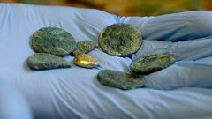 WORK CONTINUES ON CELTIC COIN HOARD FOUND IN JERSEY