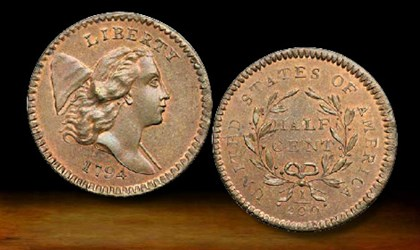 DISCOVERING THE FINEST 1794 HALF CENT, HIGH RELIEF HEAD