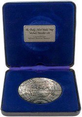 NATIONAL MARITIME MUSEUM MERCATOR MAP MEDALS