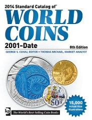 NEW BOOK: 2014 STANDARD CATALOG OF WORLD COINS 2001-DATE