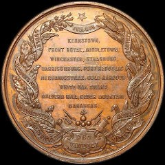 THE 1864 STONEWALL JACKSON MEDAL