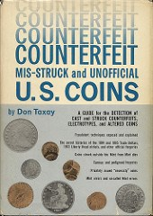 QUERY: INSCRIBED TAXAY BOOKS ON COUNTERFEITS SOUGHT
