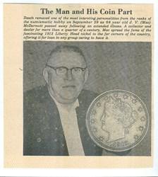 MORE MEMORIES OF J.V. MCDERMOTT