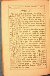 1860 HARPER'S READER DESCRIPTION OF U.S. COINS