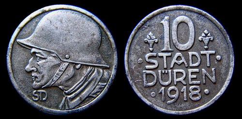 FEATURED WEB PAGE: 1918 GERMAN IRON TOKEN