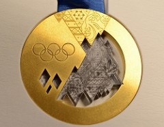 SOME OLYMPIC GOLD MEDALS TO CONTAIN RUSSIAN METEORITE FRAGMENTS