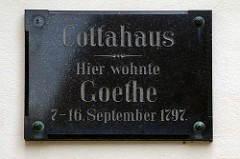 HOWARD BERLIN'S REPORT FROM GERMANY: GOETHE AND COIN ALLEY