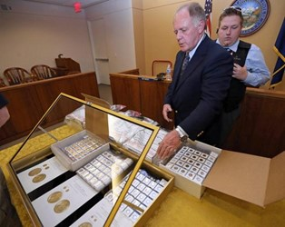NEVADA RECLUSE'S GOLD COIN HOARD SOLD