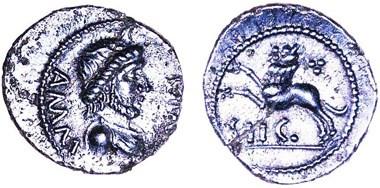 UNIQUE ANCIENT BRITISH COIN OF AMMINUS FOUND