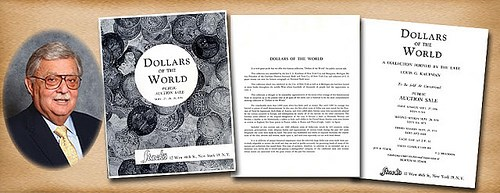 L.G. KAUFMAN'S DOLLARS OF THE WORLD EXHIBIT
