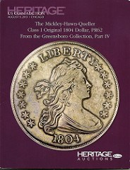 BOOK REVIEW: HERITAGE'S MICKLEY 1804 DOLLAR CATALOG