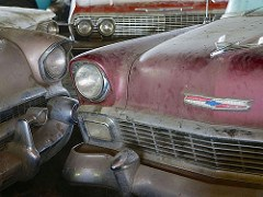 CACHE OF DECADES-OLD UNTOUCHED CLASSIC AUTOS TO BE SOLD