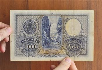 RARE TURKISH REPUBLIC 1,000-LIRA NOTES DISCOVERED