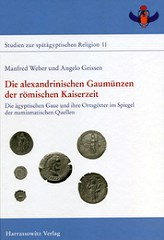 NEW BOOK: THE COINS OF THE ALEXANDRINIAN NOMES