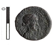 FOURTH EXAMPLE OF ANTONY AND CLEOPATRA LOVERS' COIN FOUND