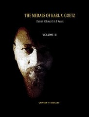NEW BOOKS: THE MEDALS OF KARL X. GOETZ
