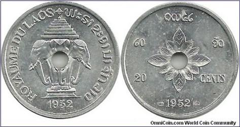 FEATURED WEB PAGE: COINS OF LAOS