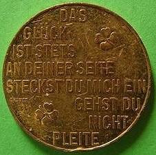 THE AUSTRIAN MINT'S PROSIT NEUJAHR TOKENS
