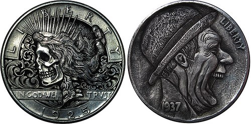 THE HOBO NICKEL CARVINGS OF PAOLO CURCIO