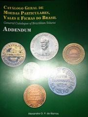 NEW BOOK: CATALOGUE OF BRAZILIAN TOKENS ADDENDUM