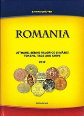 NEW BOOK: ROMANIA TOKENS, TAGS AND CHIPS