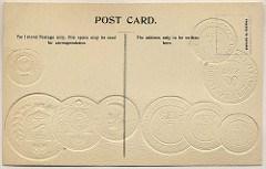 COIN CARD POSTCARD ALBUM CENSUS