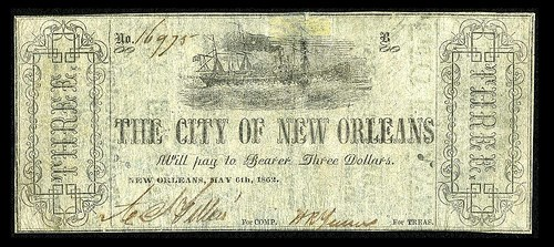 COLLECTING CITY OF NEW ORLEANS SCRIP