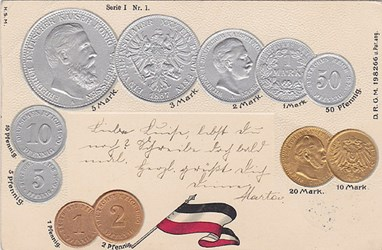 MORE ON NUMISMATIC POSTCARDS AND ALBUMS