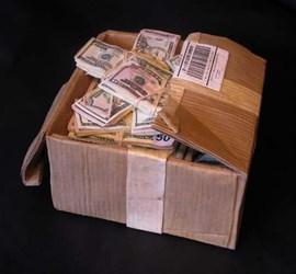 RANDALL ROSENTHAL'S AMAZING MONEY BOX SCULPTURE