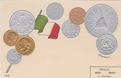 MORE ON NUMISMATIC POSTCARDS