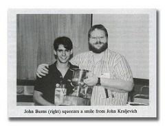 KRALJEVICH REMEMBERS JOHN BURNS
