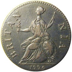 BYRON WESTON AND CONTEMPORARY COUNTERFEIT HALFPENCE