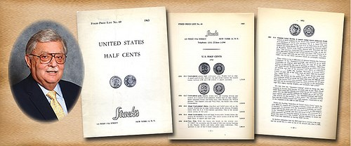 THE BROBSTON COLLECTION OF UNITED STATES HALF CENTS