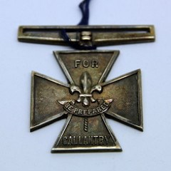 THE SCOUT ASSOCIATION'S SILVER CROSS