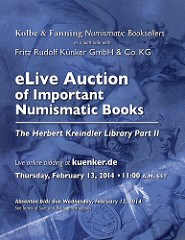 KREINDLER LIBRARY PART II SALE CLOSES FEBRUARY 13, 2014