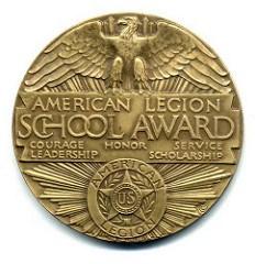 THE AMERICAN LEGION SCHOOL AWARDS