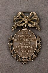 FROM A THANKFUL NATION: LATIN AMERICAN MEDALS