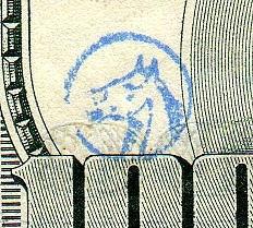 CHOPMARKS ON MODERN U.S. PAPER MONEY