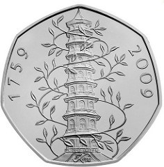 BRITONS SEARCH FOR RARE KEW GARDENS 50P COIN