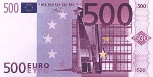 THE 500 EURO BIN LADEN BANKNOTE